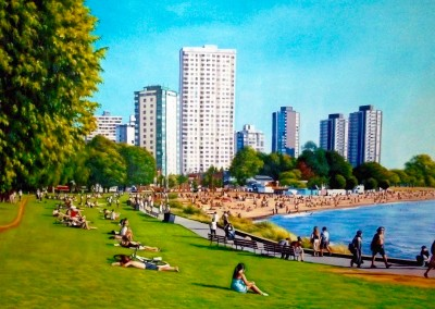 English Bay on a Summer's Day