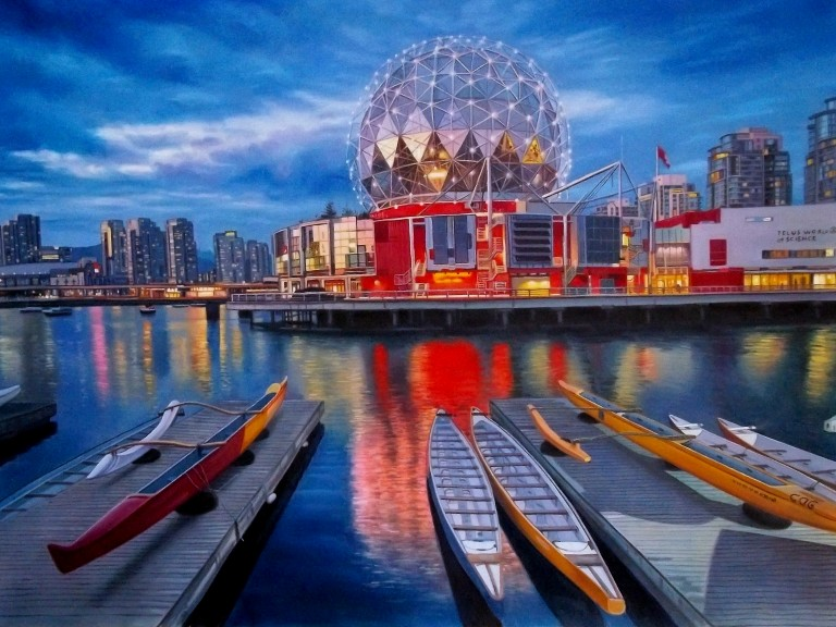 Dragon Boats at Science World