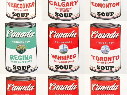 Canada Soup Cans